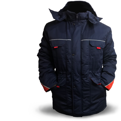 Куртка утеплена з капюшоном 'Шторм'