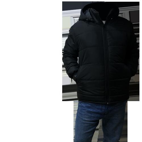 Легка утеплена  куртка з капюшоном 'Формула'